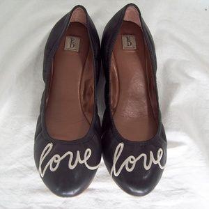 ED Ellen DeGeneres Love Langston Ballet Flat sz 12